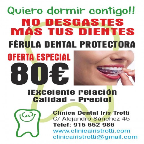 OFERTA Férula dental